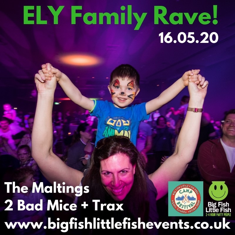 Big Fish Little Fish X Camp Bestival Family Rave - Ely