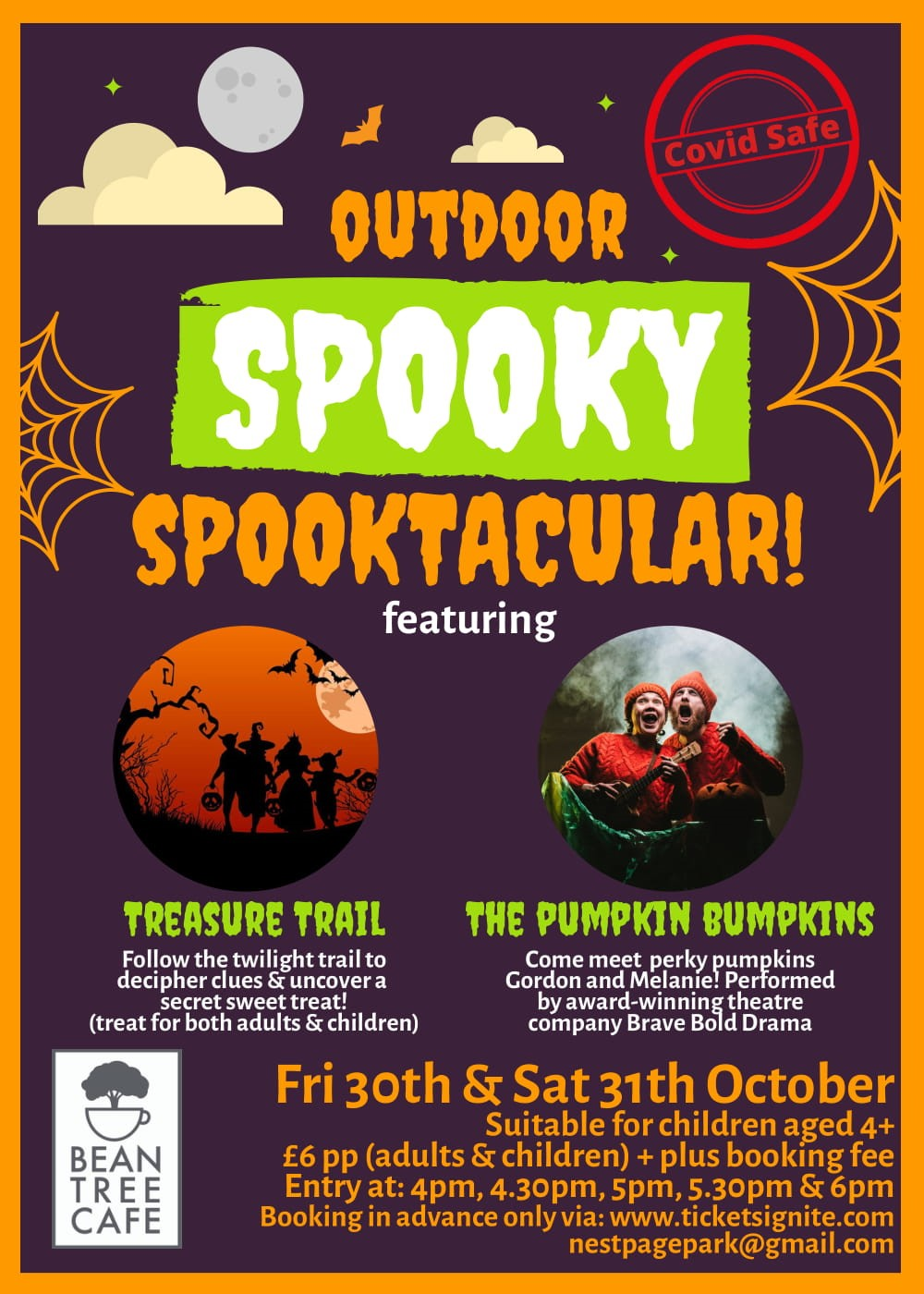 Outdoor Spooky Spooktacular with Brave Bold Drama