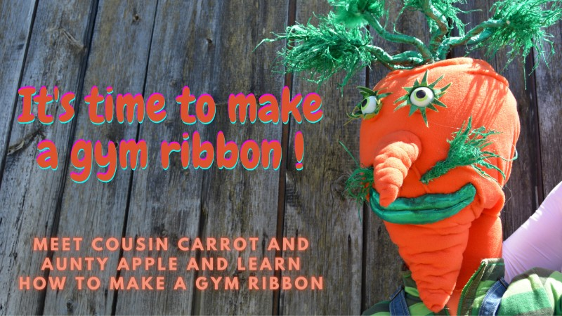 Planet Munch Puppets -  Learn how to make a gym ribbon and get ready to Groove in the Roots.