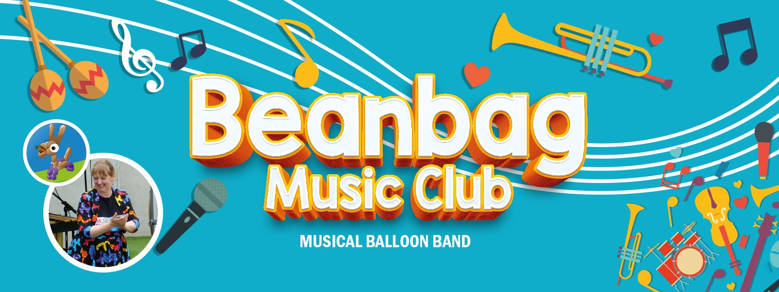 Beanbag Music Club: Musical Balloon Band