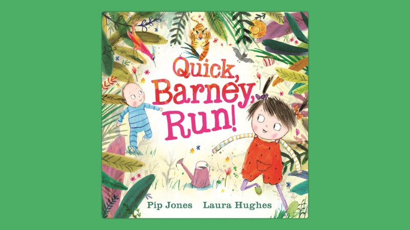 Storytelling: Quick, Barney, Run!