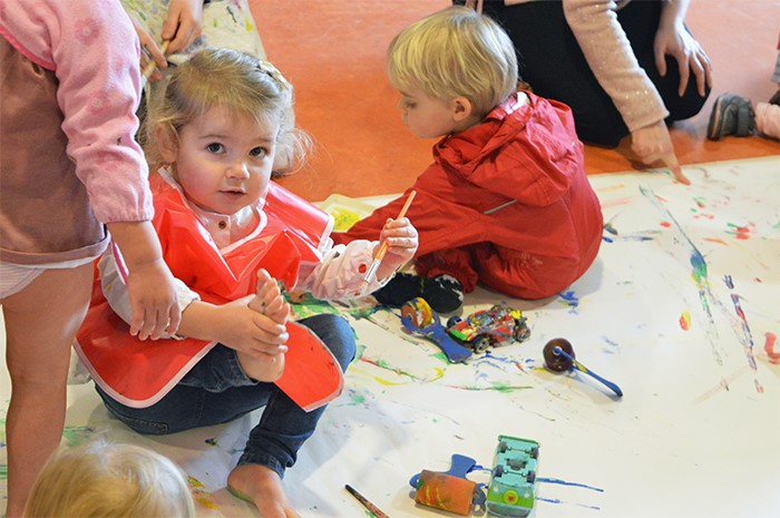 Painting for Under 5s
