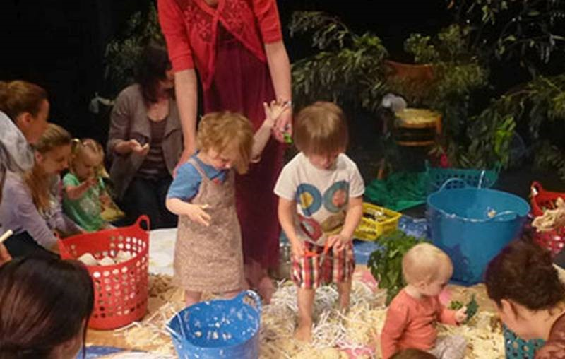 Little tots Creative Play: Dough Island