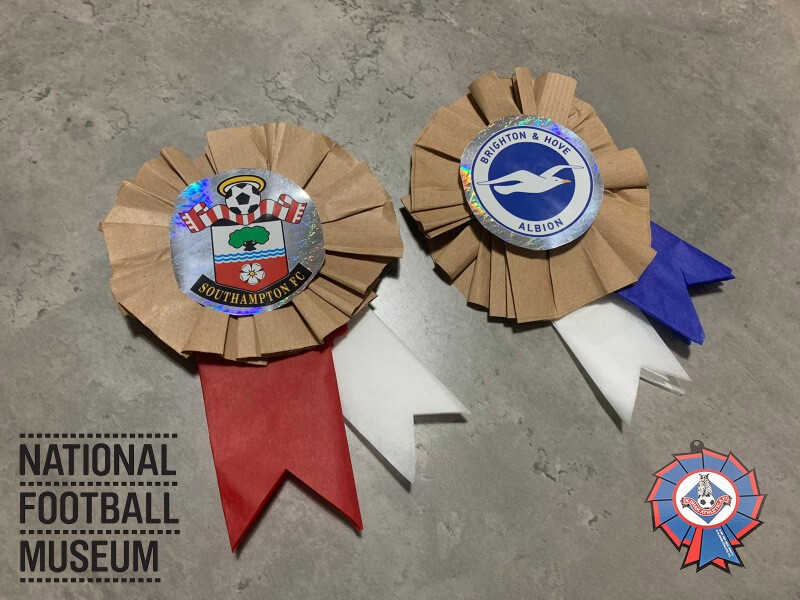 Make Your Own Football Rosettes