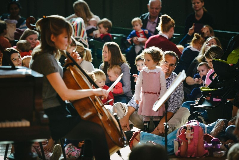 Bach to Baby Family Concert in Raynes Park