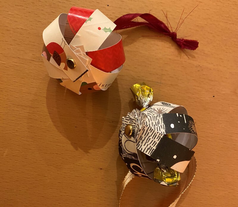 How to make a Christmas bauble