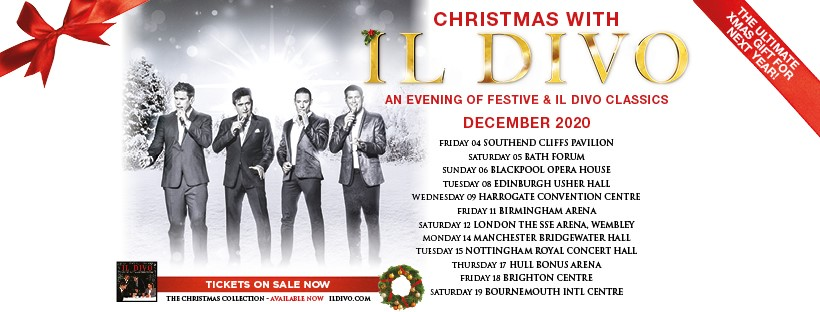 Il Divo Christmas Concert December 2020 Christmas with Il Divo | Fantastic for Families