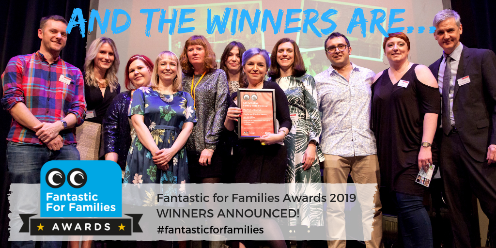 Winners announced! Fantastic for Families Awards 2019