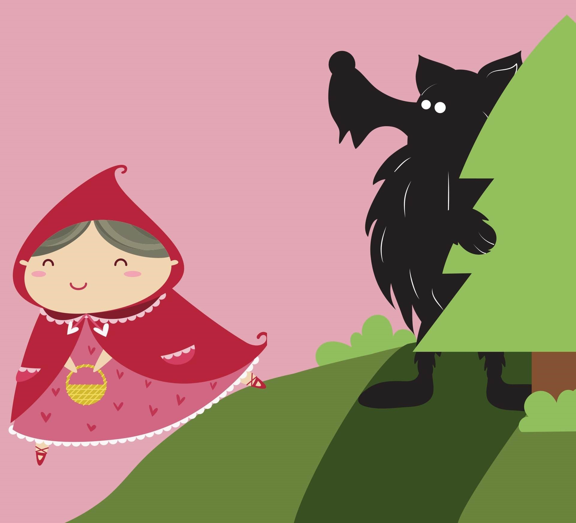 My first Panto - Little red riding hood