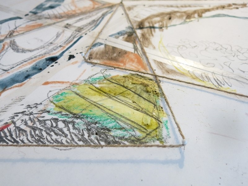 Land Games - The Big Draw with Seren Stacey