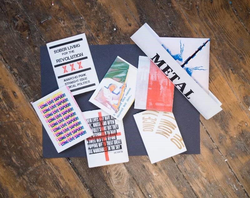 Zines: Write, Print, Share! Exhibition