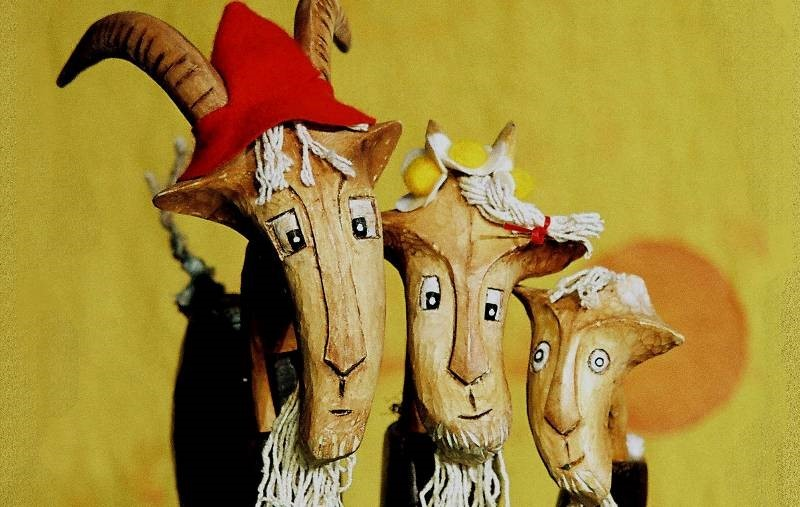 Three Billy Goats Gruff - Norwich Puppet Theatre