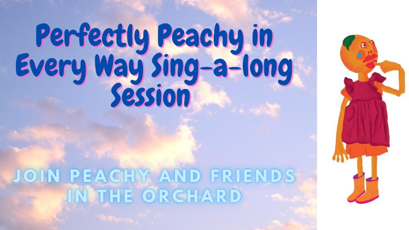 Planet Munch Puppets - Perfectly Peachy in Every Way - Sing-a-long Session