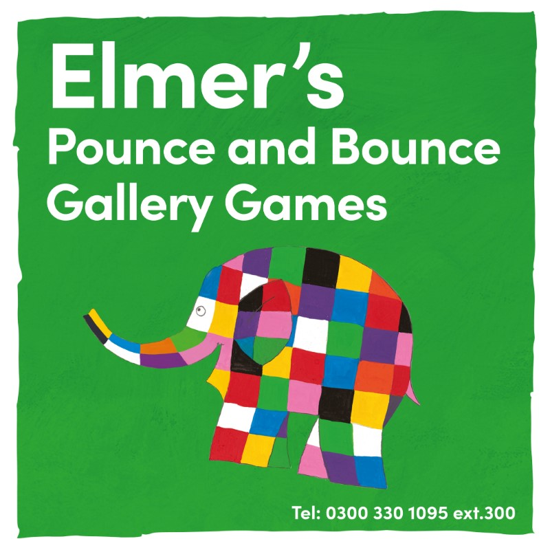 Elmer's Pounce & Bounce Gallery Games