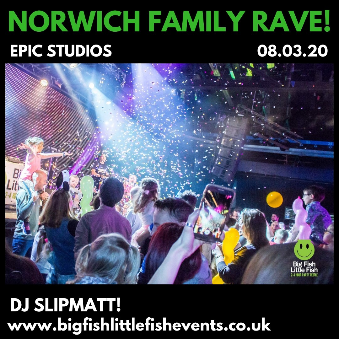 Big Fish Little Fish X Camp Bestival Family Rave - Norwich