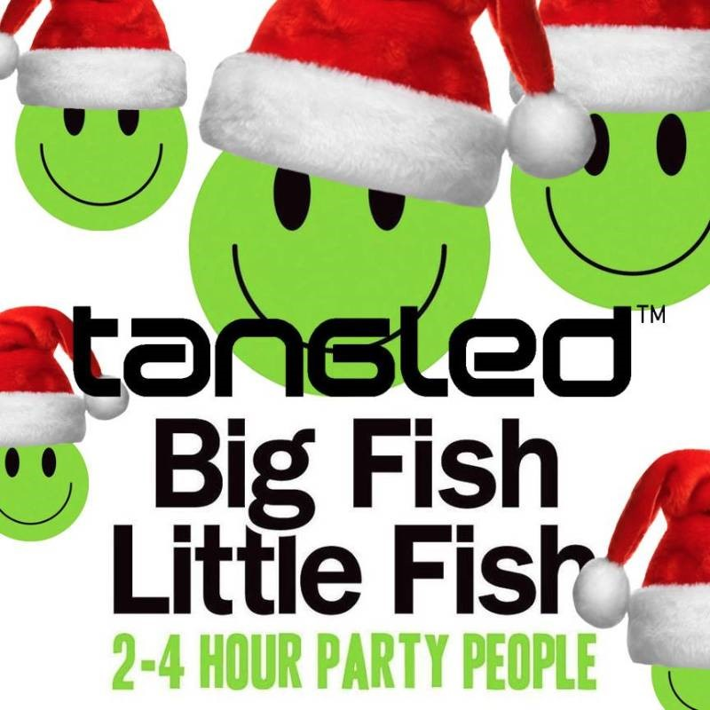 Big Fish Little Fish Manchester x Tangled Xmas Takeover