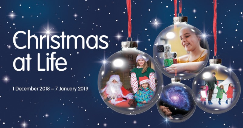 Festive fun at Life Science Centre