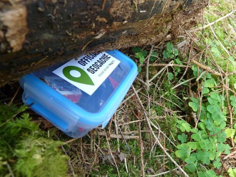 Geocaching Tale Trail