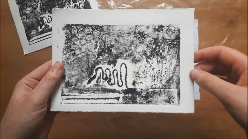 Collograph Printing with Rachael Coward