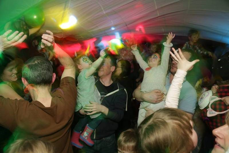 Big Fish Little Fish Family Rave in Orsett Hall (Essex) with Nookie + DJ Trax