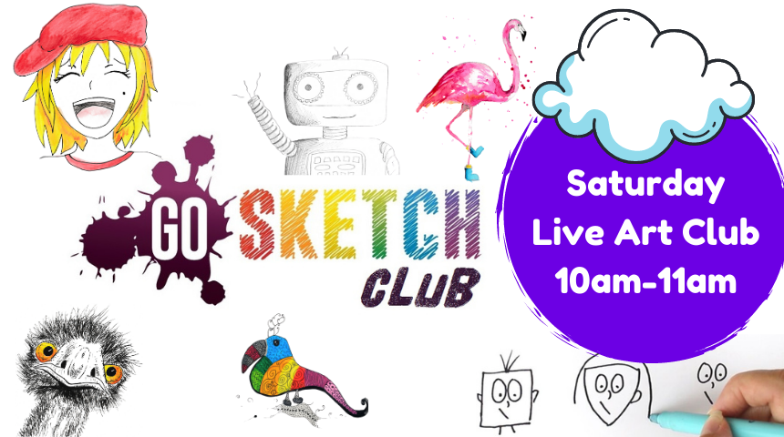 Saturday LIVE Art Club