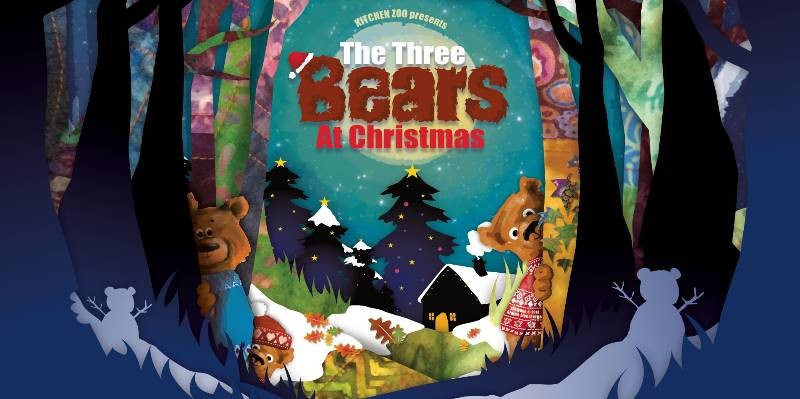The Three Bears at Christmas