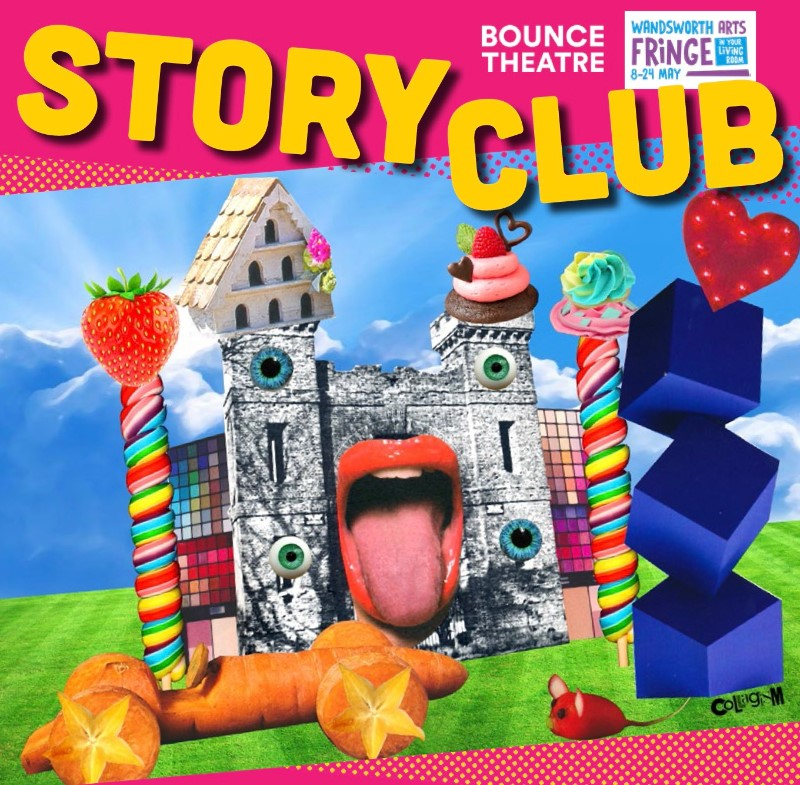 WAF In Your Living Room presents Bounce Theatre: Story Club