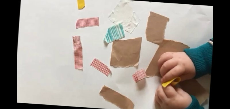 Creative Ideas for Under 5's - sticky tape