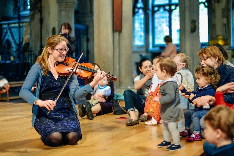 Bach to Baby Family Concert in Hampstead Burgh House