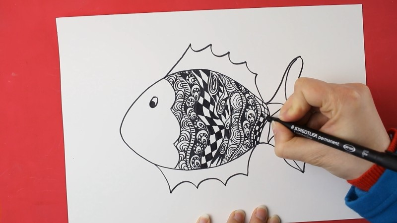 Zendoodle Animals Online Drawing Course