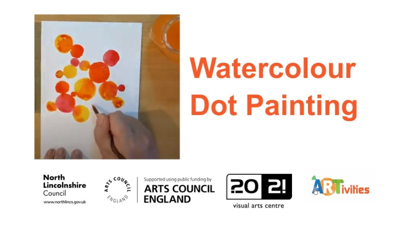 Watercolour Dot Painting