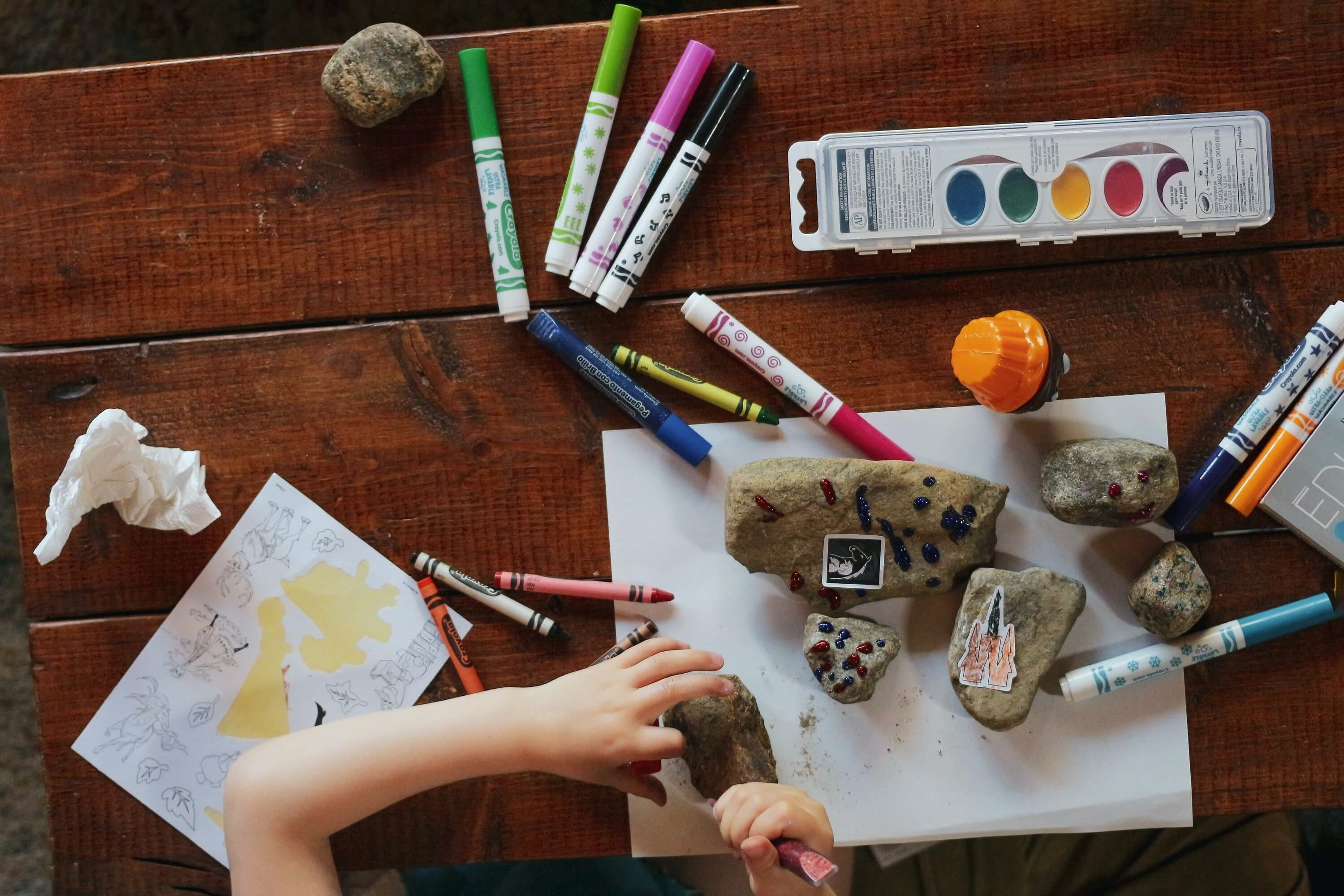 Top Creative Activities for home-based arts and crafts