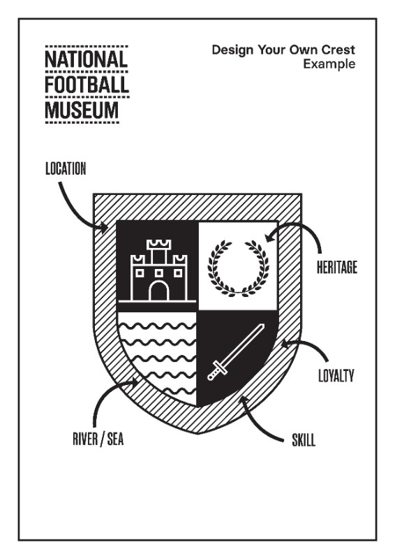 Design Your Own Crest Templates