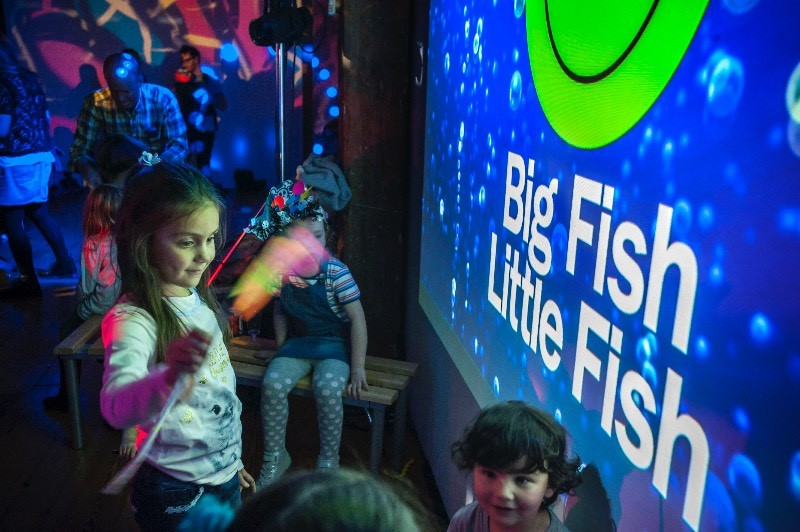 Big Fish Little Fish Family Rave - Watford with DJ Mark Archer (Altern-8)
