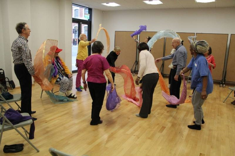 A4D South Asian Dance for People with Early-Stage Dementia and Companions, with Akademi