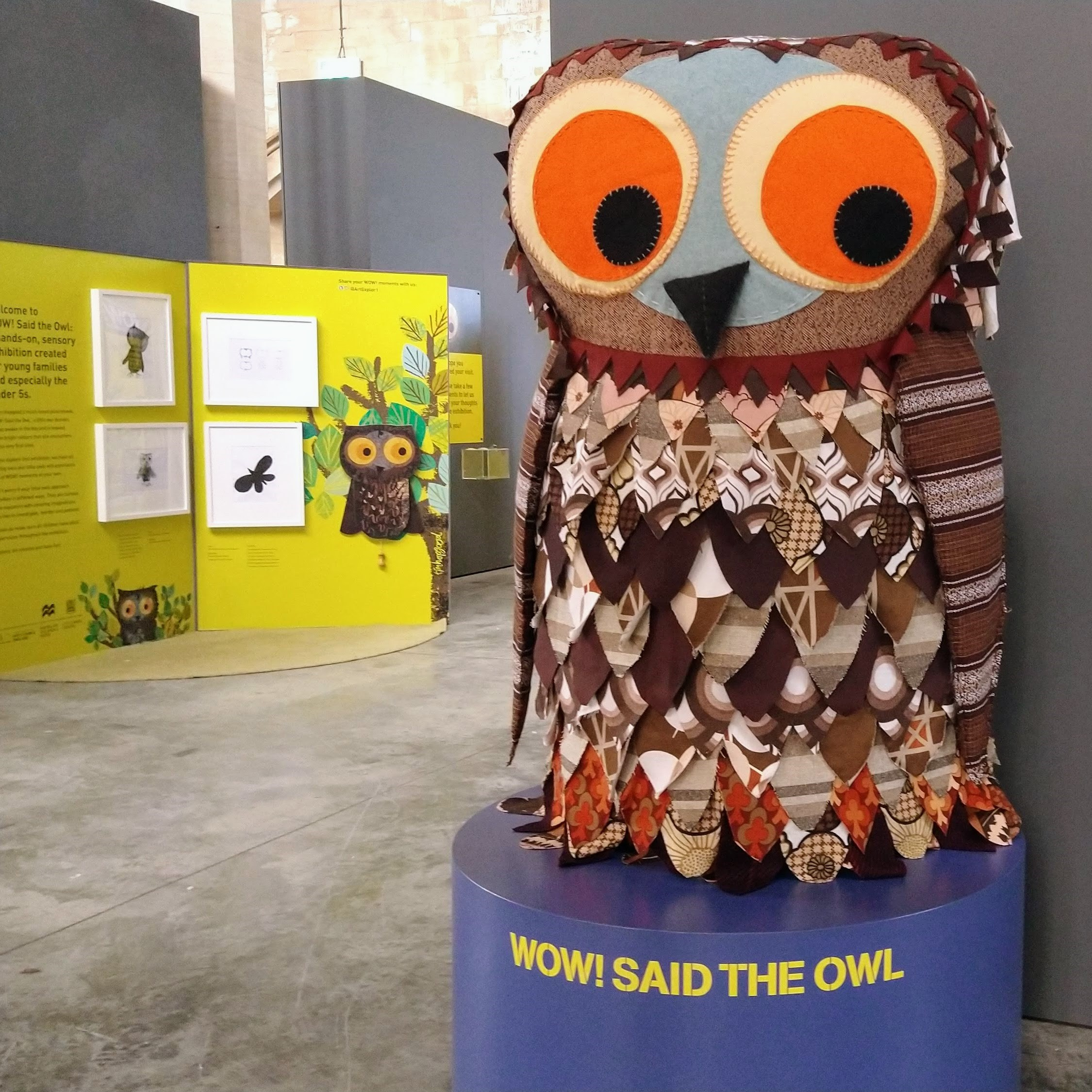 WOW! Said the Owl exhibition