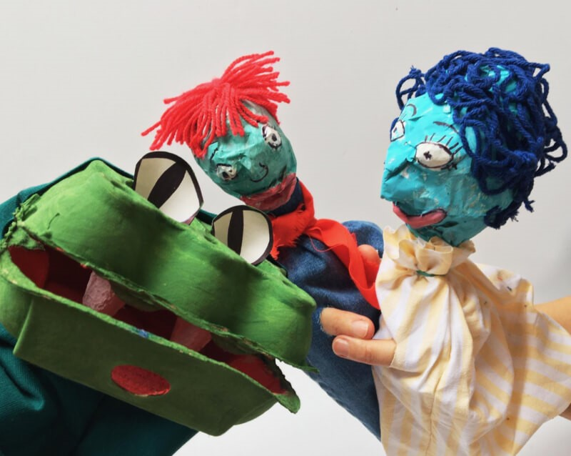 How to make a seaside-inspired puppet