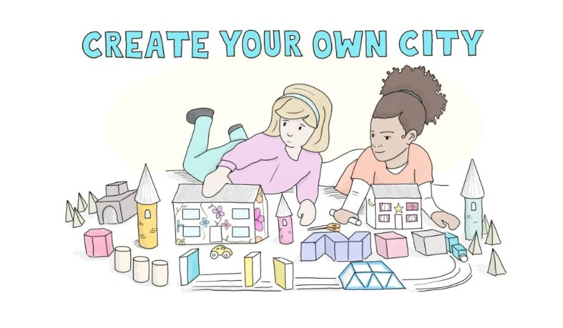 Create your own 3D city!