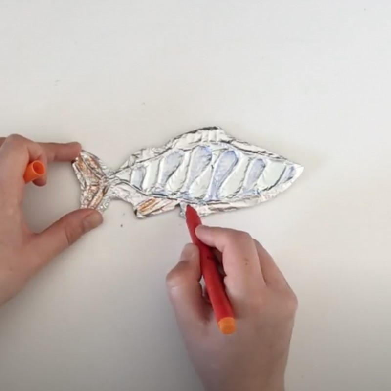 How to make a foiled fish