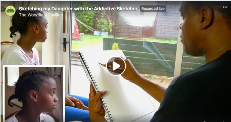 WAF In Your Living Room presents: Addictive Sketcher by Woodfield Project