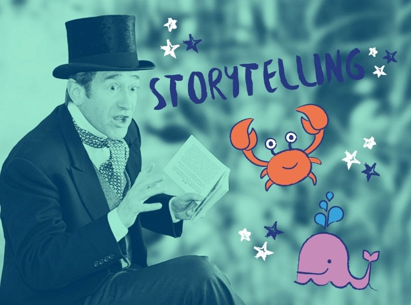 Storytelling: Whale Tales (5-7 years)