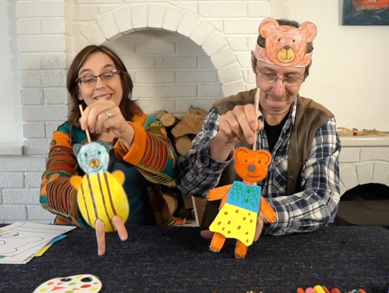 Farm On Demand: Oldilocks and the 3 Bears - Puppet Making Workshop