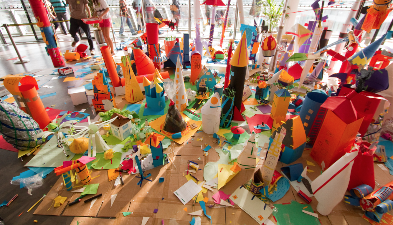 Open House Families - 'Junkitecture goes Inside-Out' with Celebrating Architecture