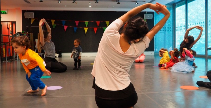 Take Part: Family Dance workshops