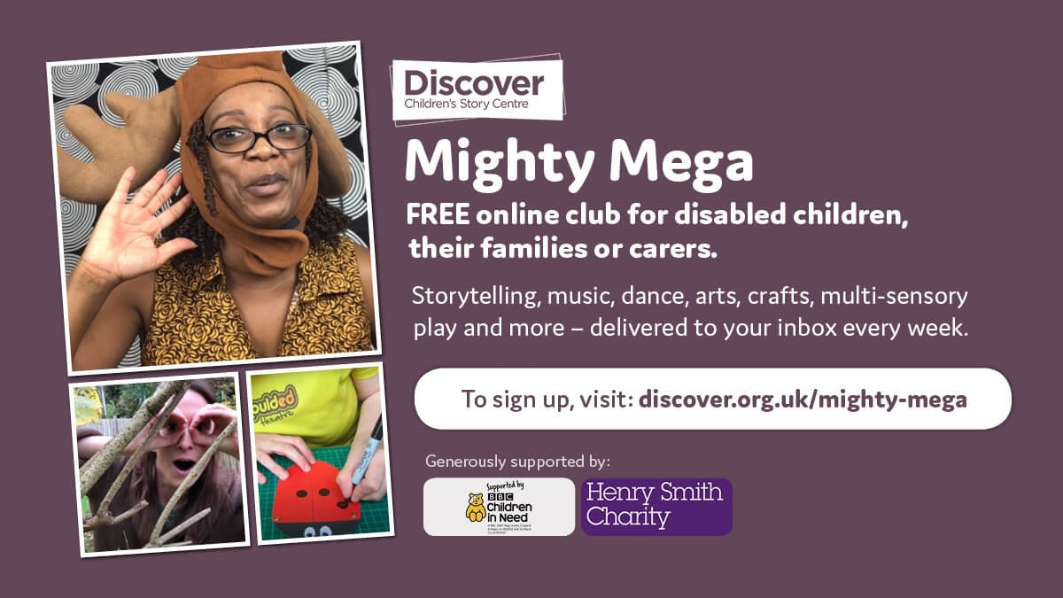 Mighty Mega - Online club for disabled children and their families