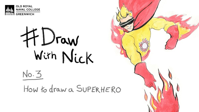Learn To Draw... A Superhero