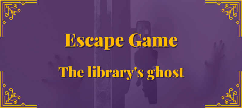 Virtual Escape Game: The Library Ghost