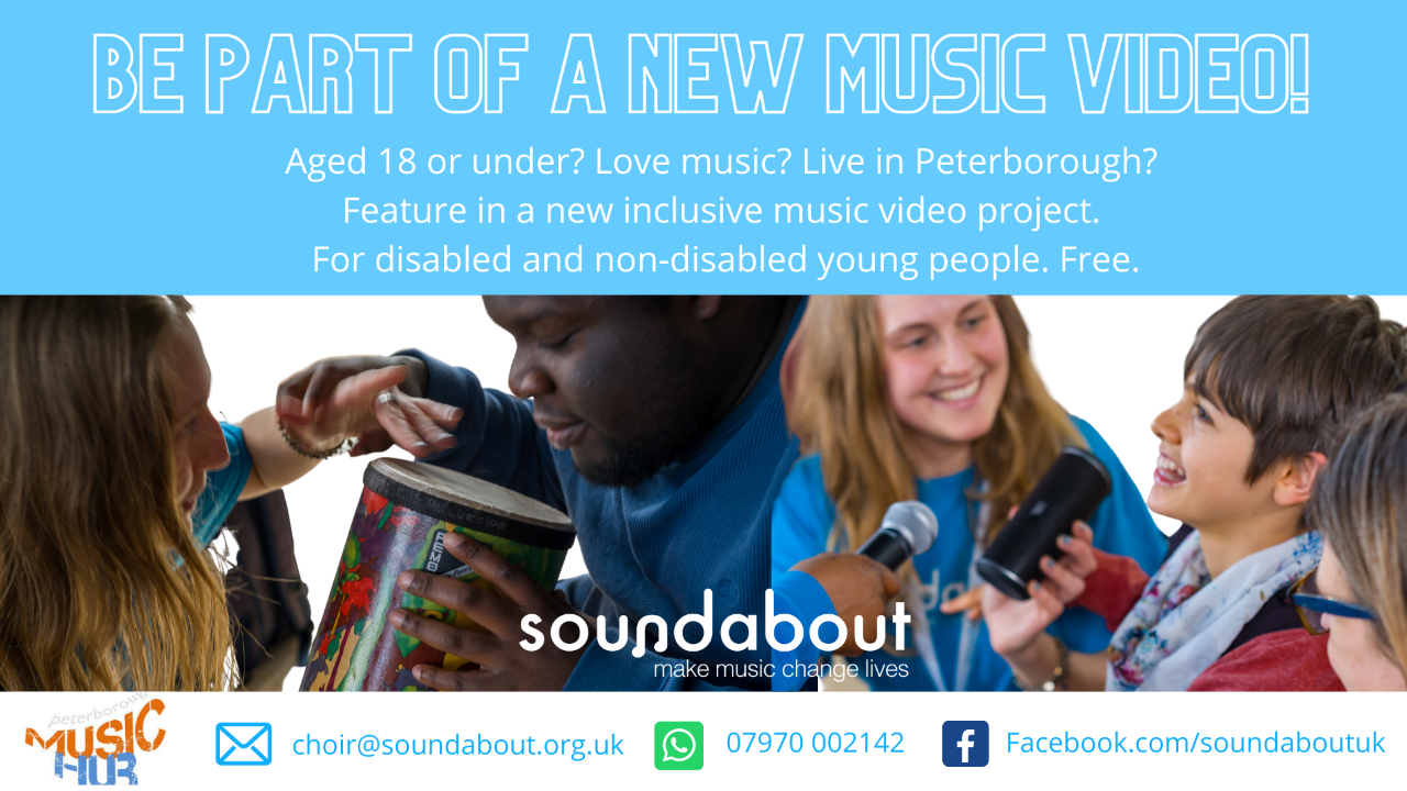 Soundabout Inclusive Choir for Peterborough Youth