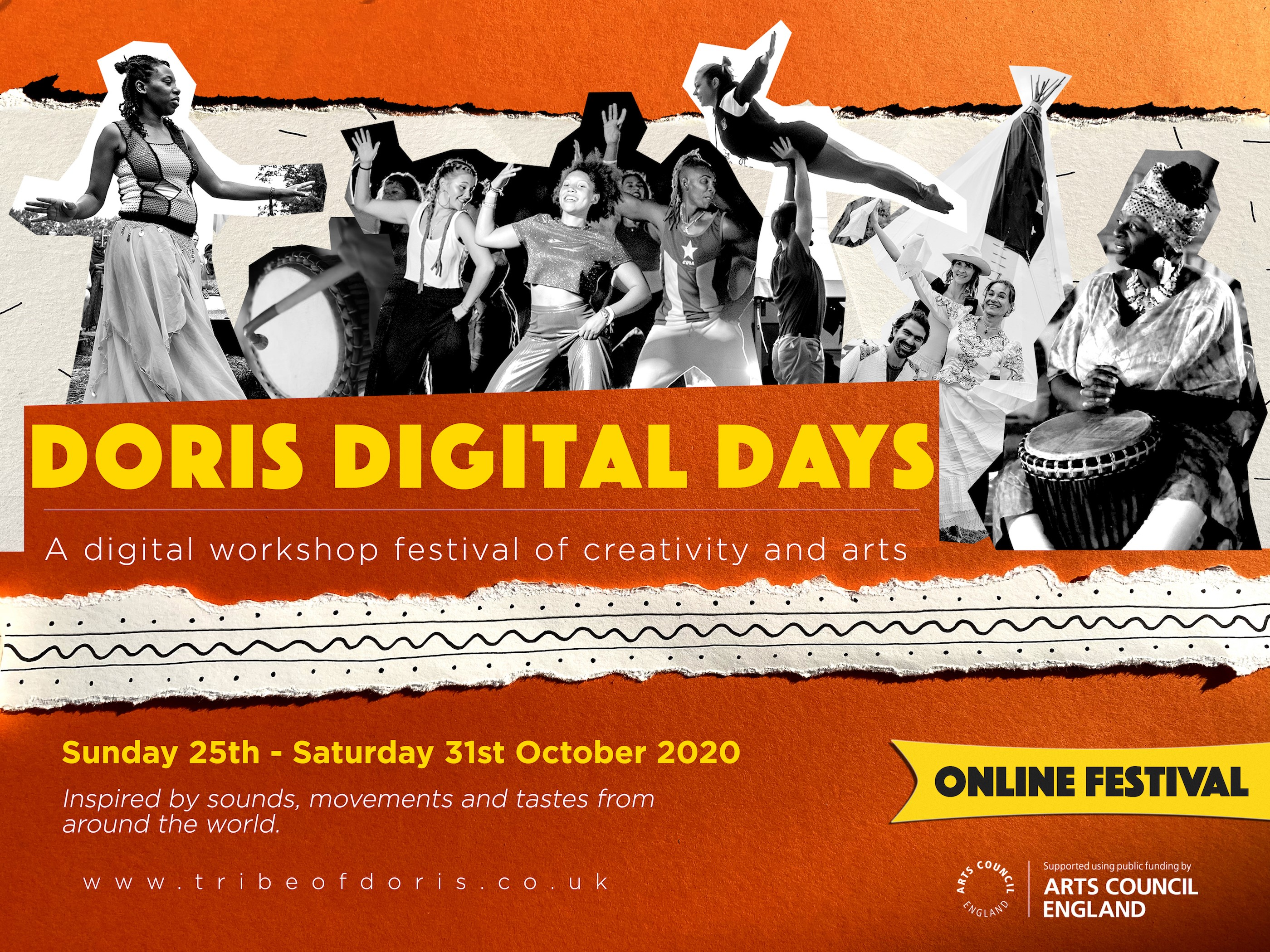 Doris Digital Days: Online Workshop Festival
