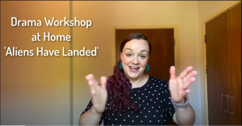 'Aliens Have Landed' Online Drama Workshop